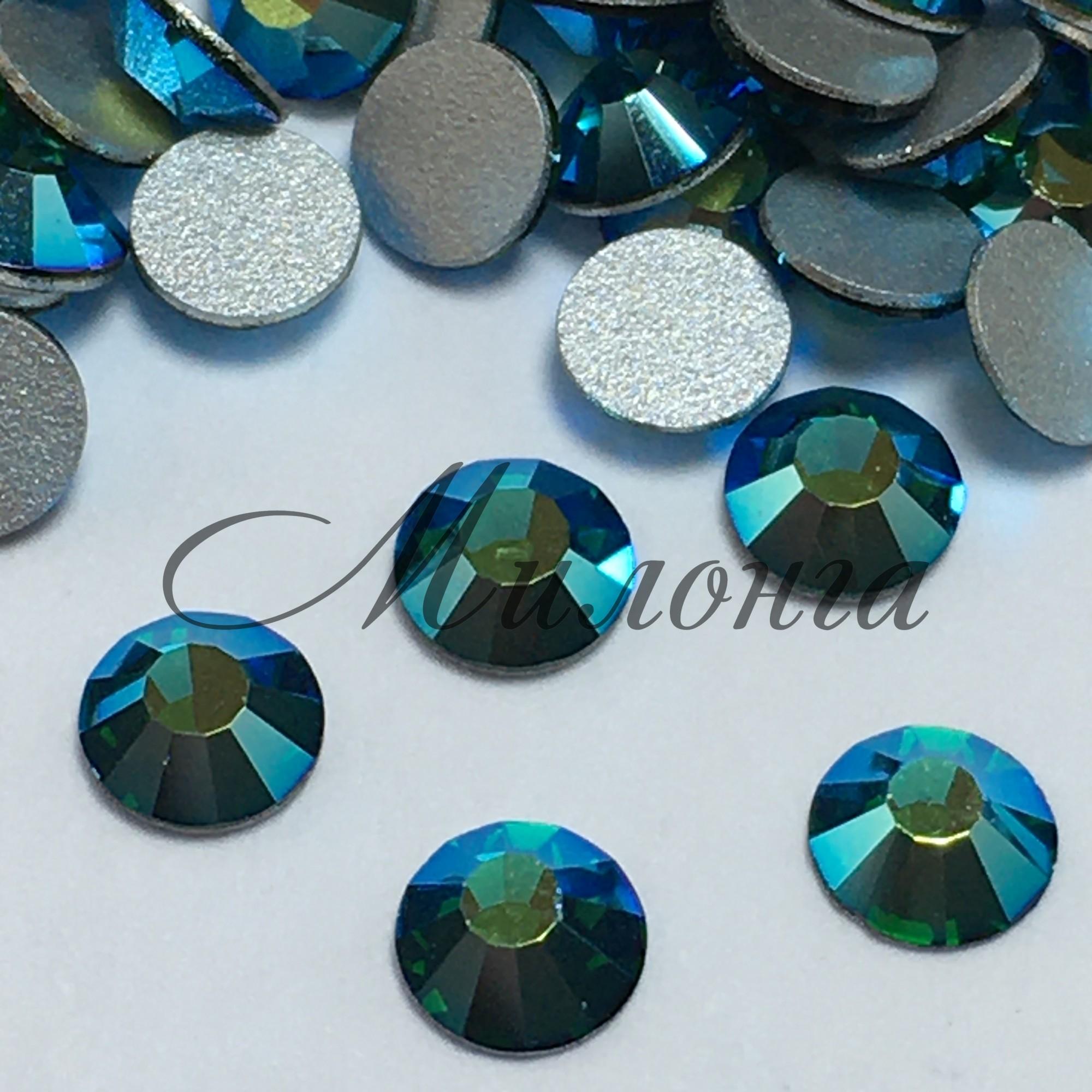 Preciosa AB Viva SS20, клеевые Emerald