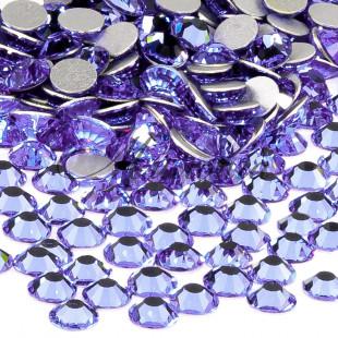 Preciosa Crystal SS16, клеевые Alexandrite
