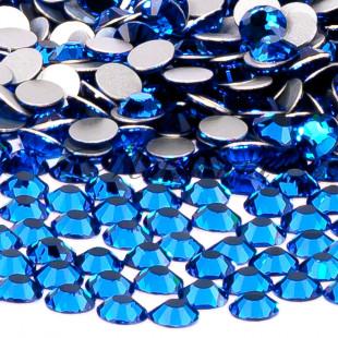 Preciosa Crystal SS16, клеевые CapryBlue