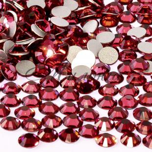 Preciosa Crystal SS16, клеевые IndianPink