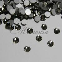 Preciosa Crystal SS16, клеевые BlackDiam