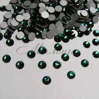 Preciosa Crystal SS16, клеевые Emerald