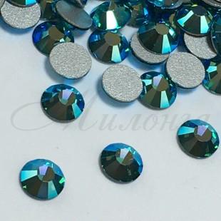 Preciosa Crystal Viva SS16, клеевые BlueZircon