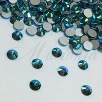 Preciosa Crystal SS16, клеевые BlueZircon