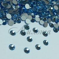 Preciosa Crystal SS16, клеевые Aquamarine