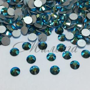 Preciosa Crystal Viva SS16, клеевые Emerald