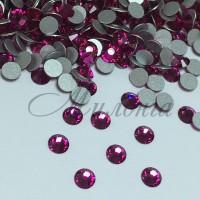 Preciosa Crystal SS16, клеевые Fuchsia