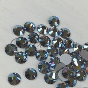 Preciosa Crystal Viva SS16, клеевые BlackDiam