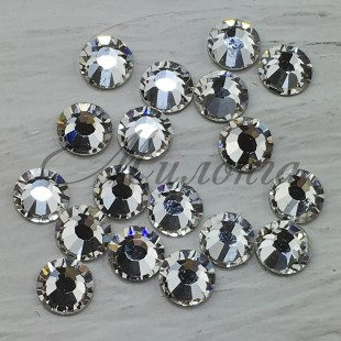Preciosa Crystal Viva SS16, клеевые Crystal