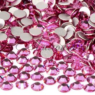 Preciosa Crystal SS16, клеевые Rose