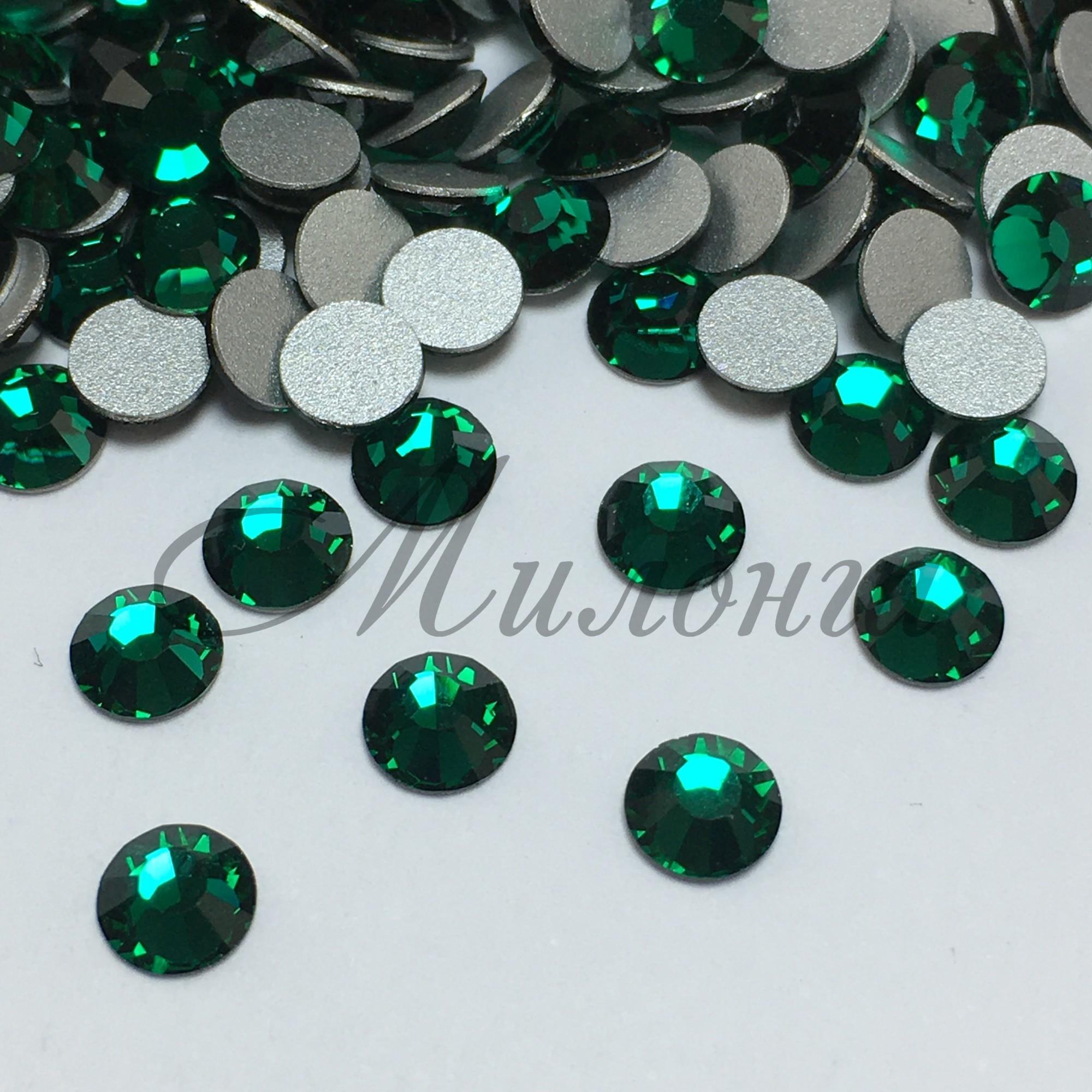 Preciosa Crystal SS20, клеевые Emerald