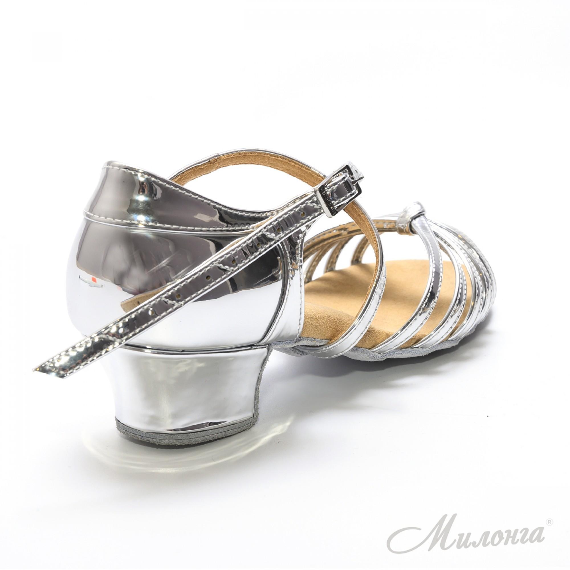Алонца В, зеркальное серебро
