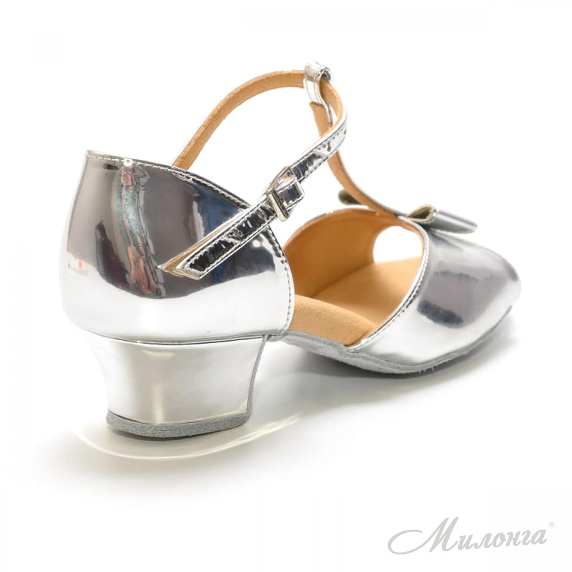 Минни В, зеркальное серебро