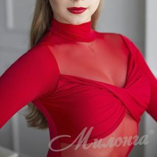 Боди FashionDance Red 015