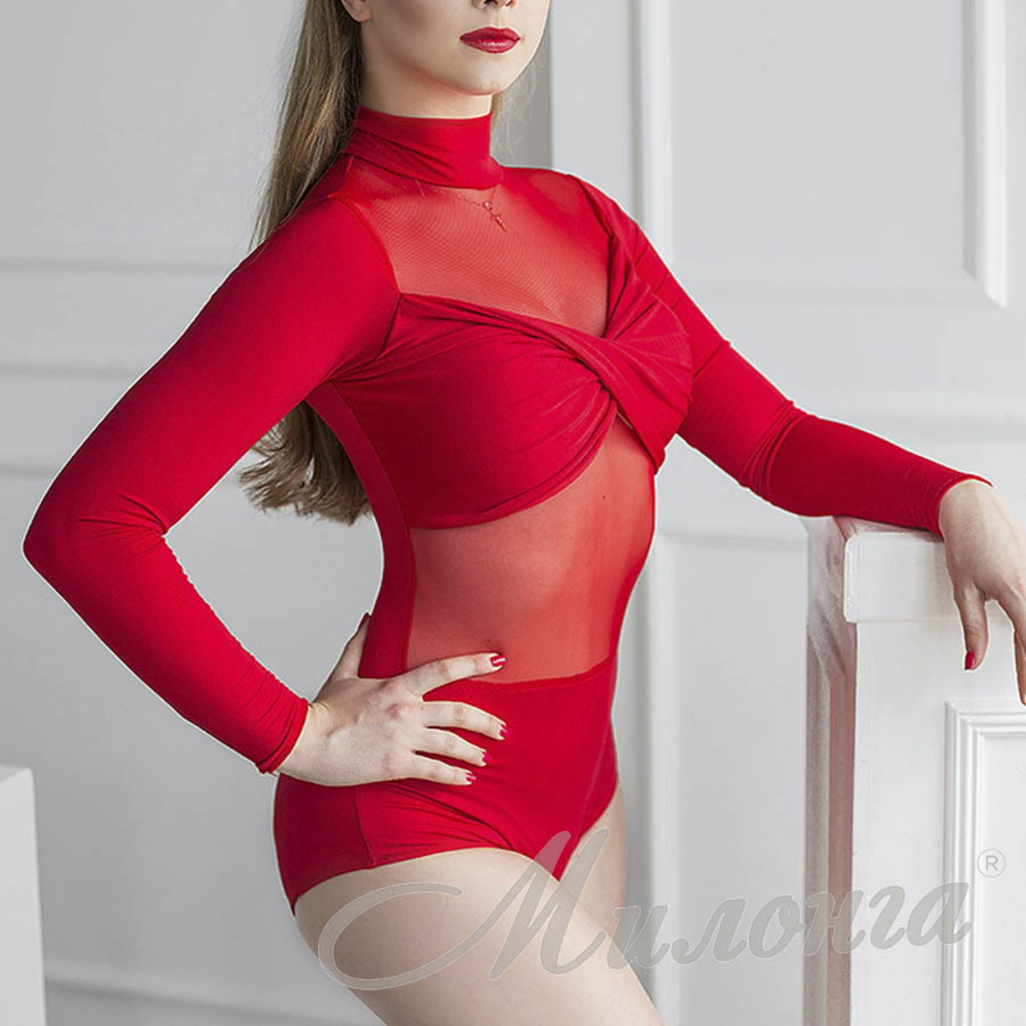 Боди FashionDance Red 015