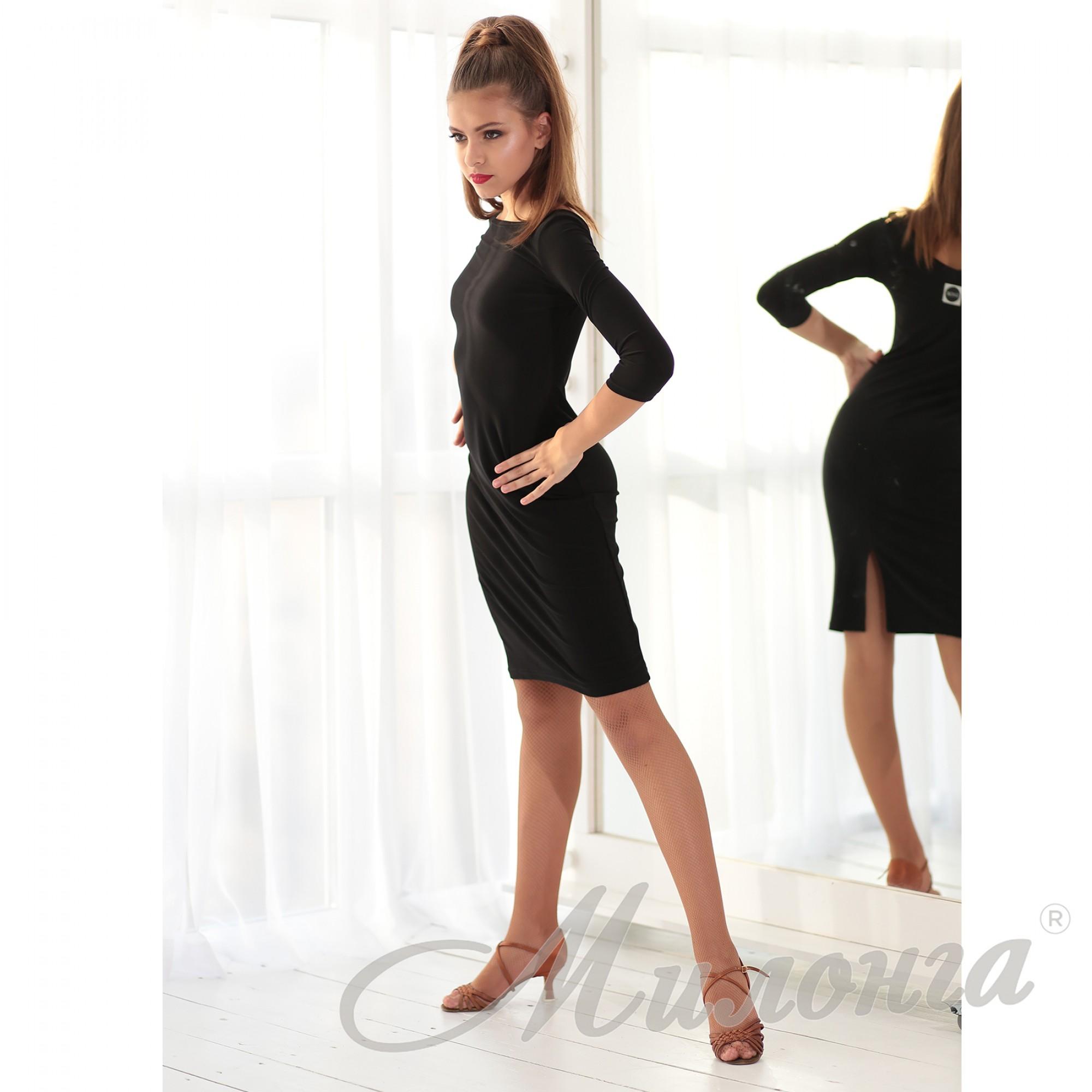 Платье SHOK 029 прямое