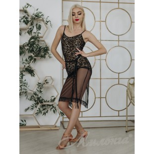Платье FashionDance 010 Blk/Leo