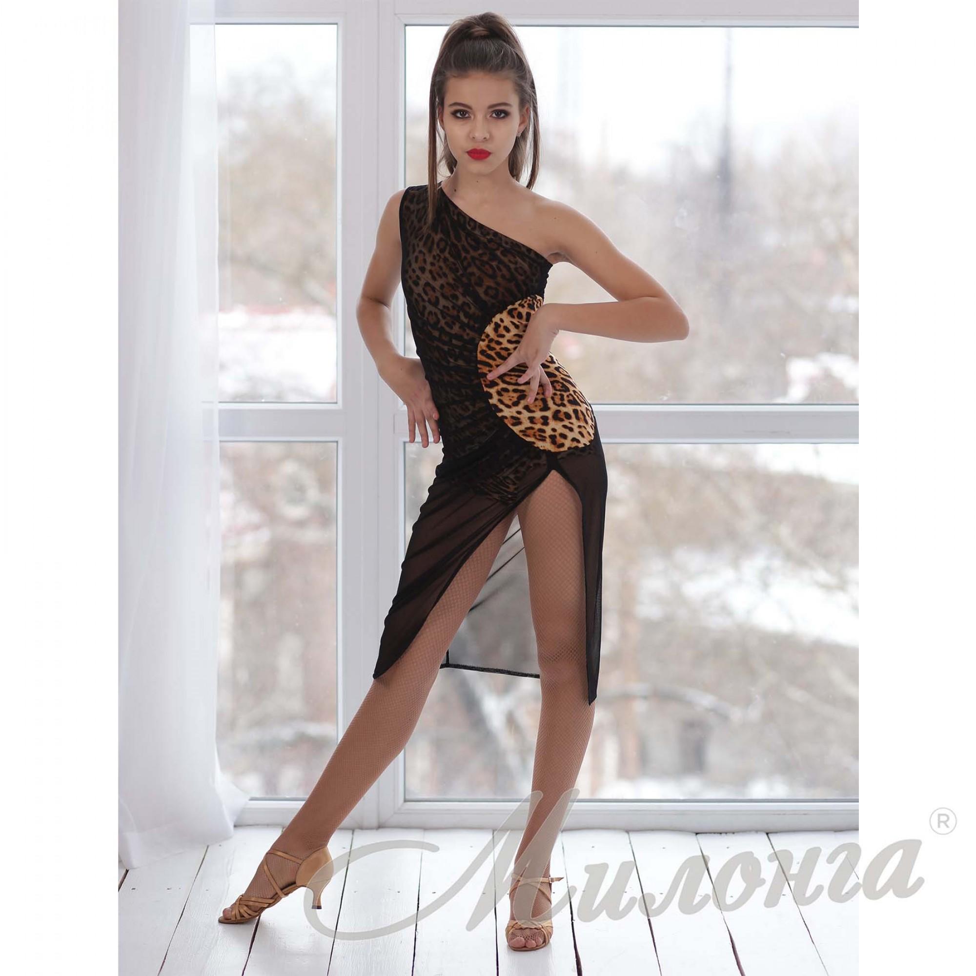 Платье латина 852, сетка