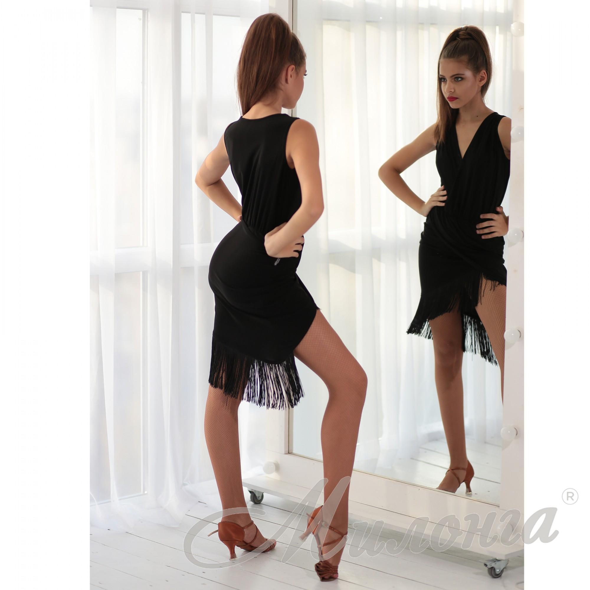 Платье 936, бахрома