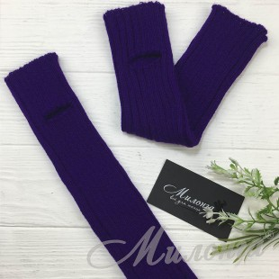 Гетры фиолетовые