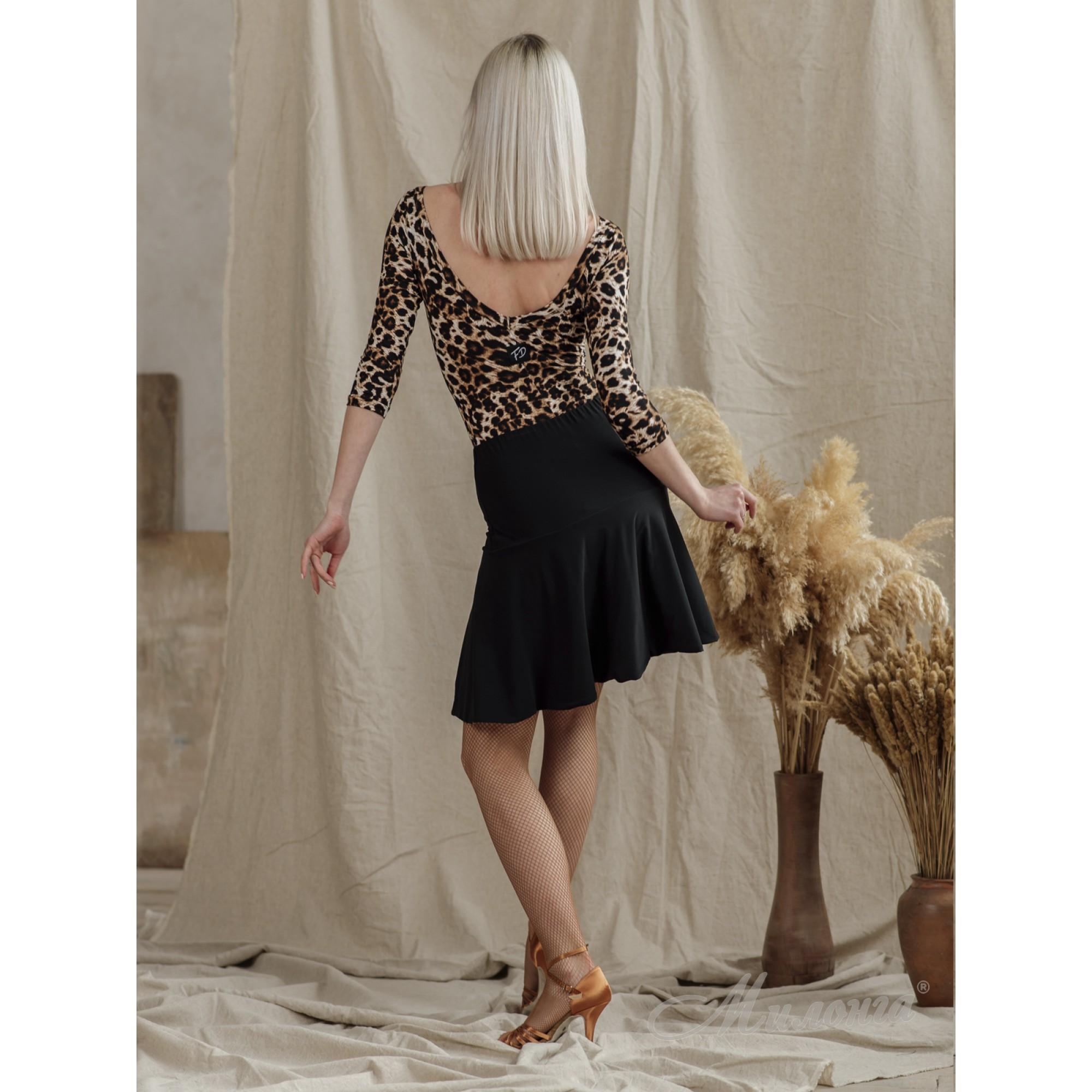 Юбка FashionDance Lt006 Bl/Leo