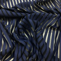 Лайкра DSI Stripes (1265) Navy