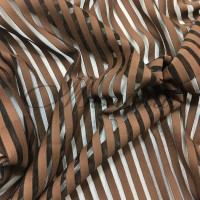 Лайкра DSI Stripes (1265) Cocao