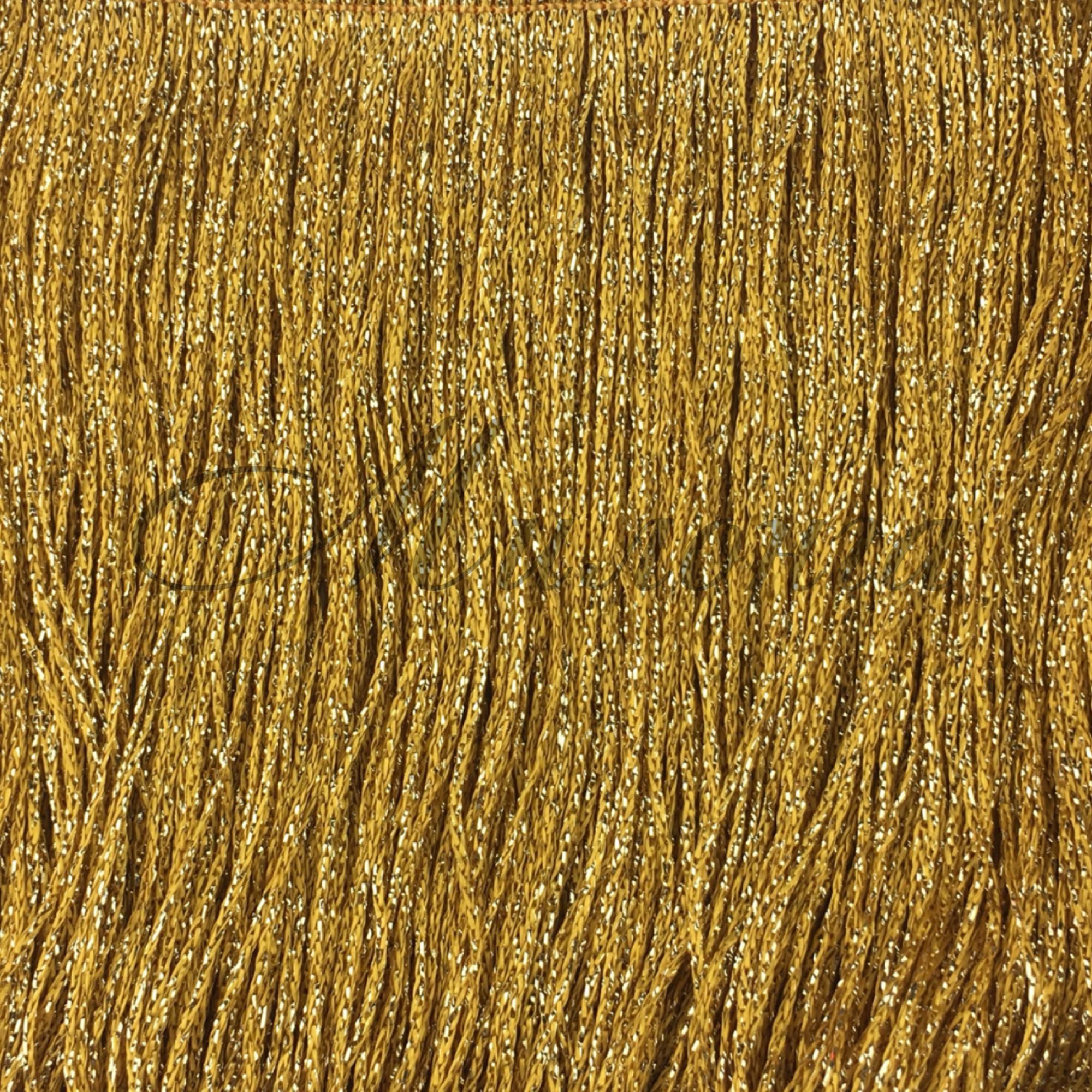 Бахрома Chrisanne 15 см Gold