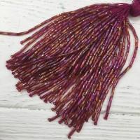 Стеклярус Chrisanne пучок (50 ниток) Hyacinth (Wine)