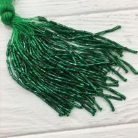 Стеклярус Chrisanne пучок (50 ниток) Emerald