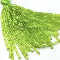 Стеклярус Chrisanne пучок (50 ниток) Peridot
