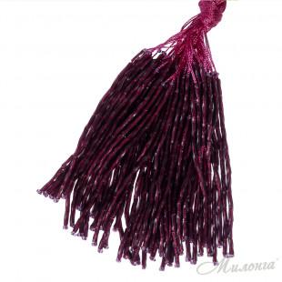Стеклярус Chrisanne пучок (50 ниток) Ruby (Plum)