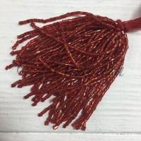 Стеклярус Chrisanne пучок (50 ниток) Erinite (Red)