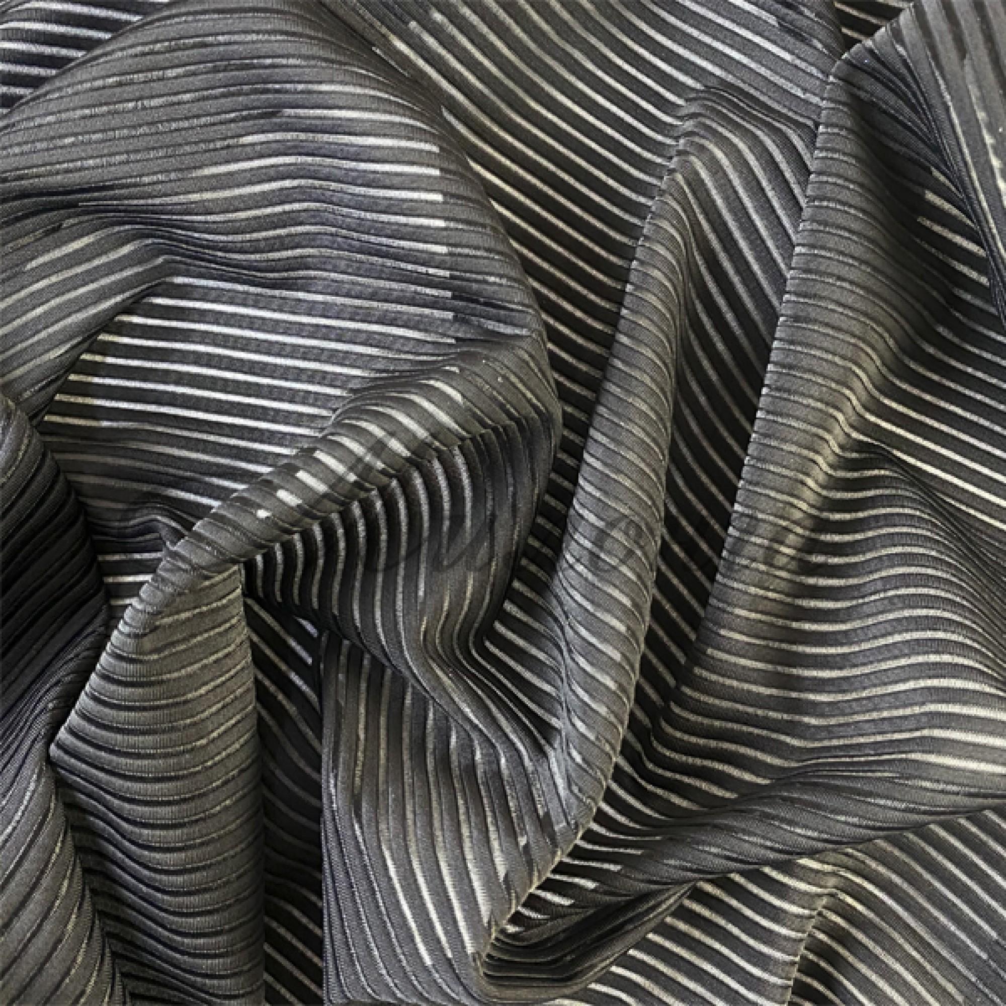 Лайкра DSI Genova Stripes (1261) Black