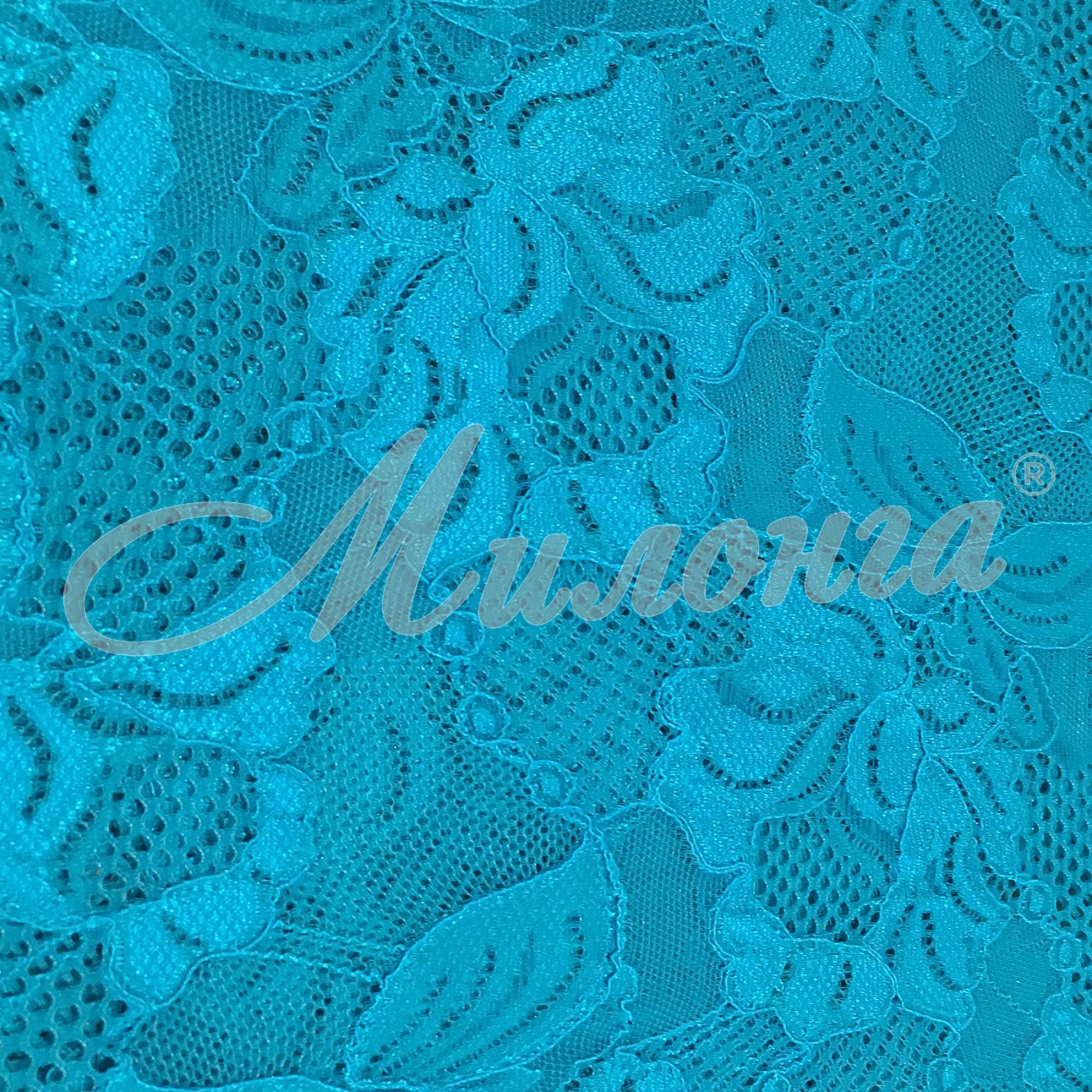 Гипюр Floral Cascade Chrisanne BlueZircon