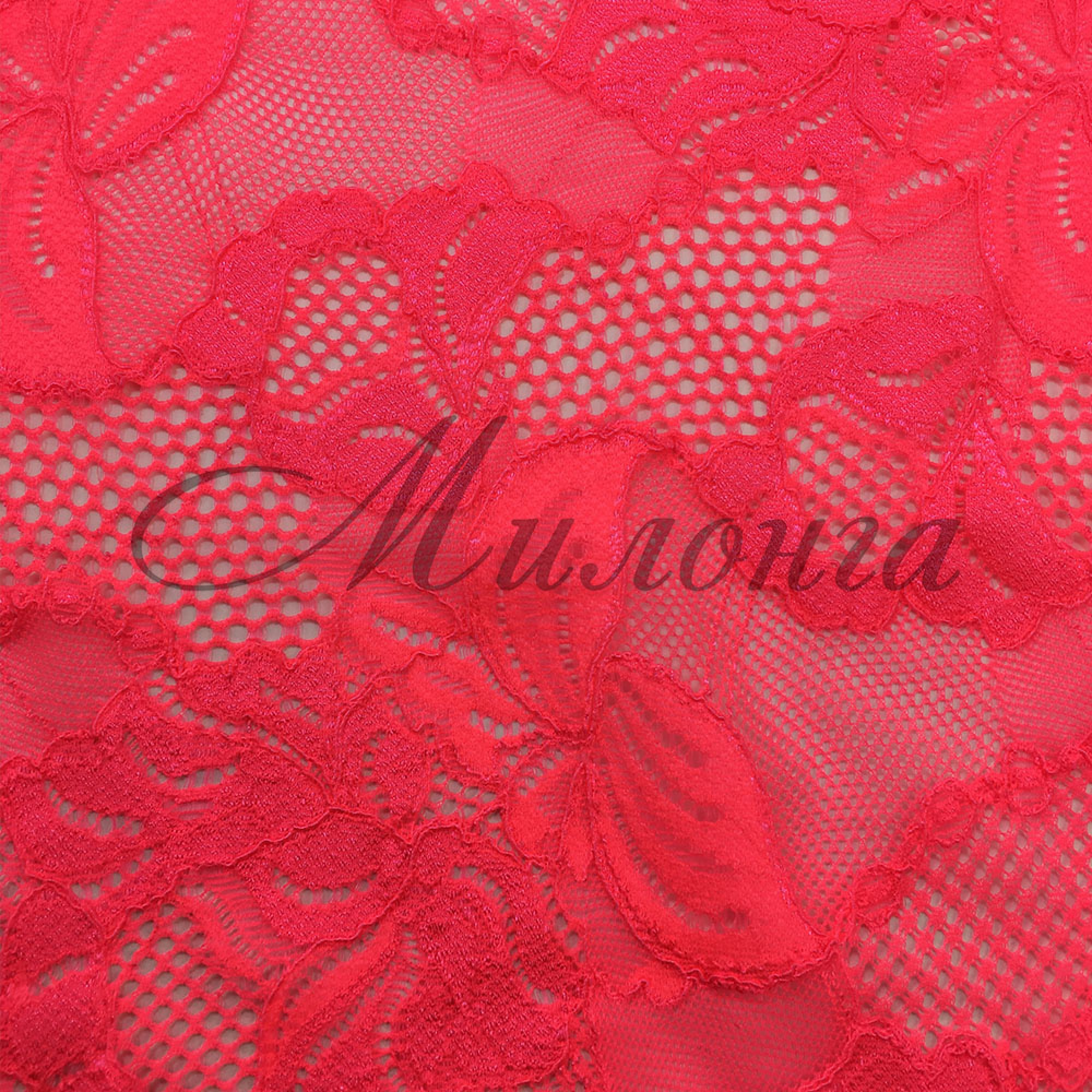 Гипюр Floral Cascade Chrisanne PinkGrapfruit