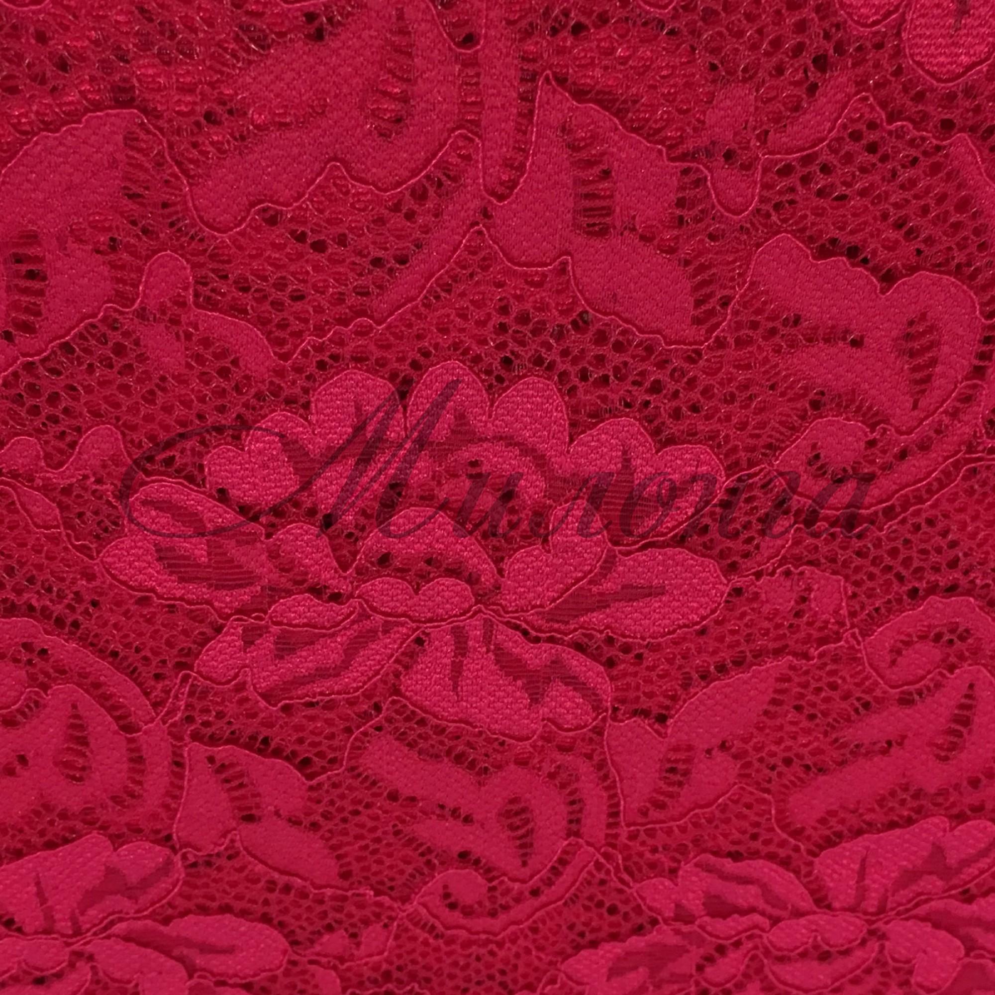 Гипюр Flower Chrisanne CherryRed