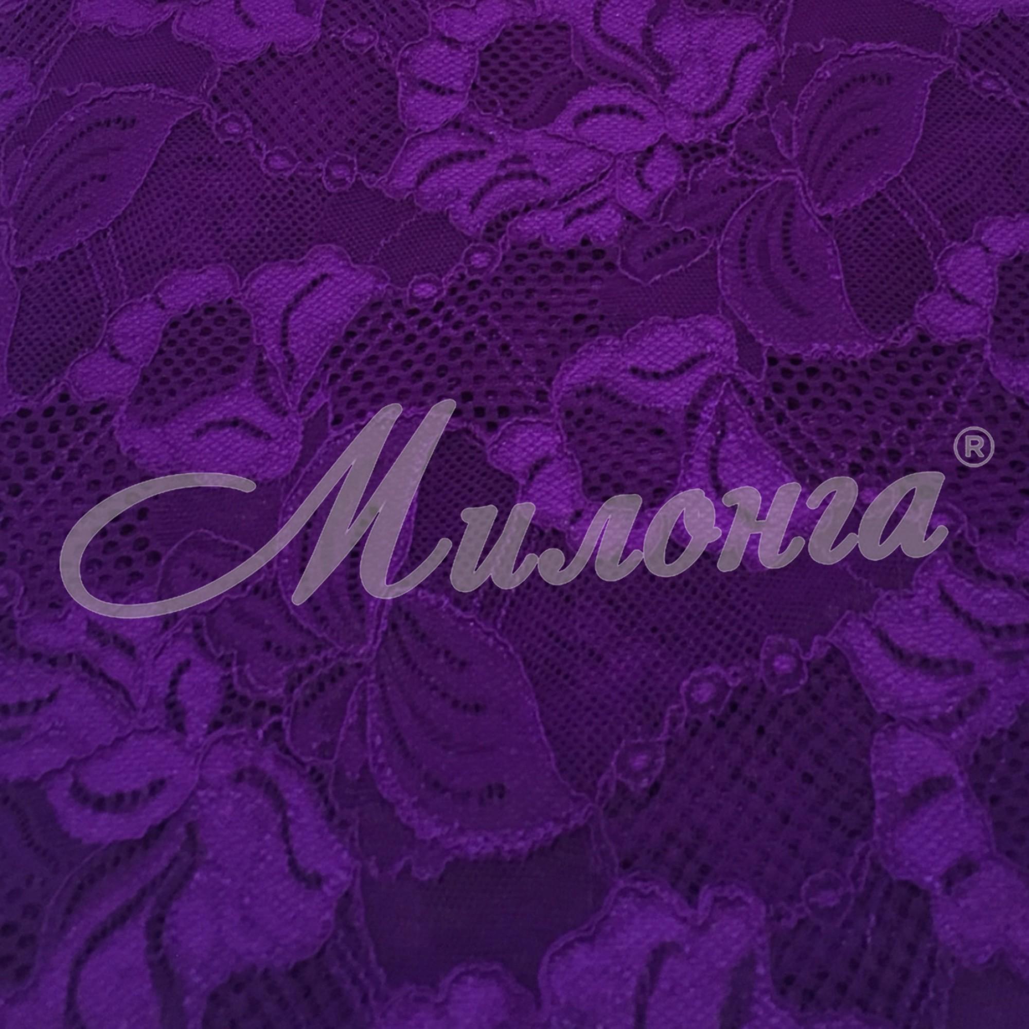 Гипюр Floral Cascade Chrisanne PurpleRain