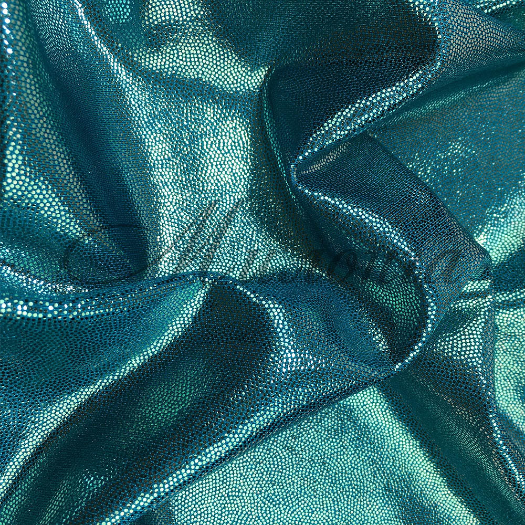 Лайкра Chrisanne DotShine Aqua On Jade