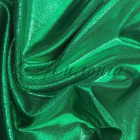 Лайкра Chrisanne DotShine Emerald On Green