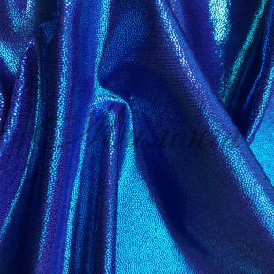 Лайкра Chrisanne DotShine Turquose On Purple