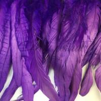Перо  FEATHERS DSI 25/30 см Purple