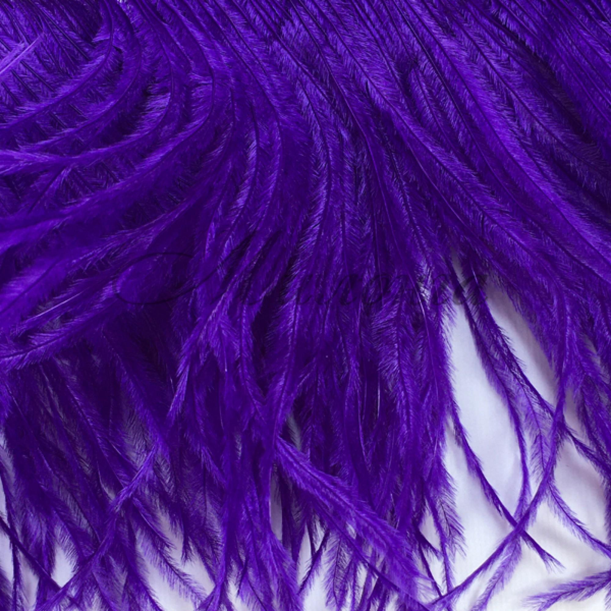 Перья страуса Chrisanne PurpleRain