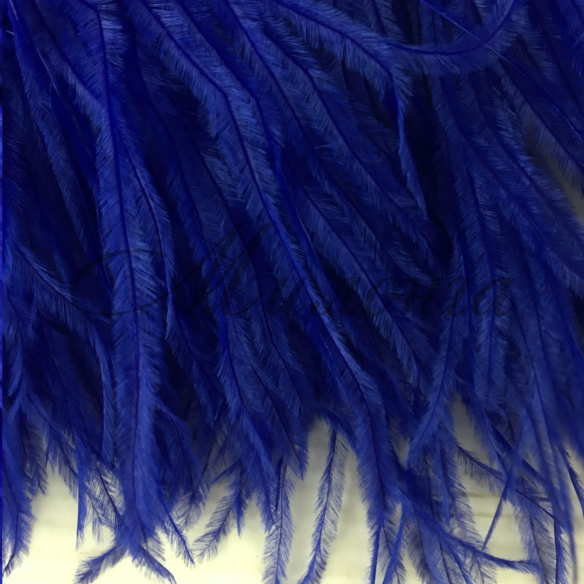 Перья страуса Chrisanne BlueBerry