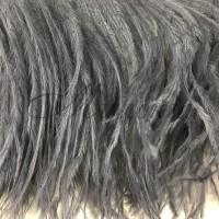 Перья страуса Chrisanne Hematite