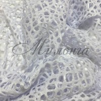 Сетка Fishnet Metalic Chrisanne Silver White