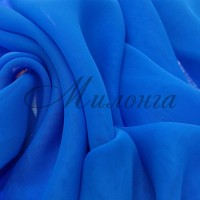 Шифон (Georgette) Chrissanne ElectricBlue