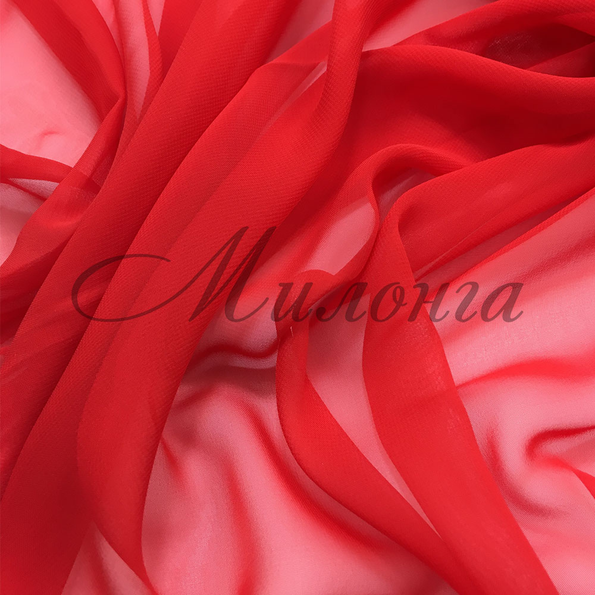 Шифон (Georgette) Chrissanne Red