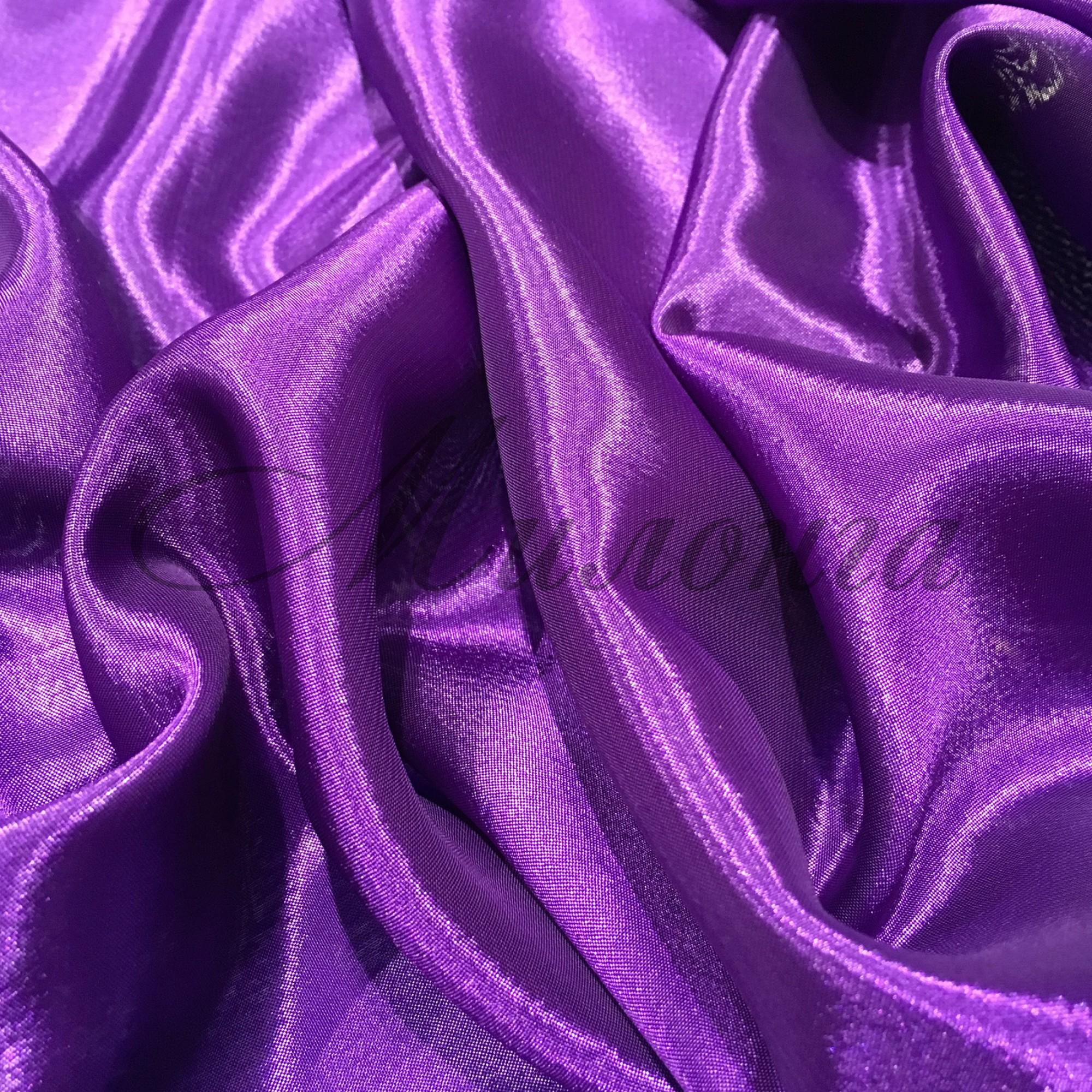 Сатин шифон Chrisanne PurpleRain