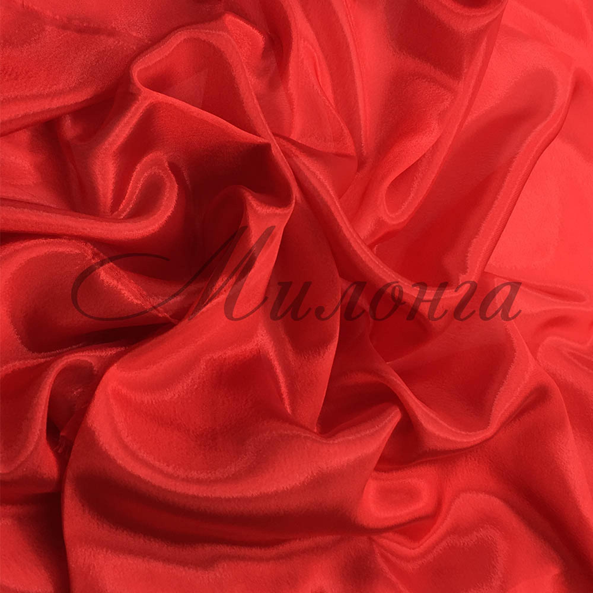 Сатин шифон Chrisanne Red